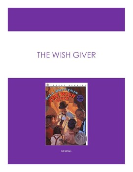 The Wish Giver Battle of the Books Questions