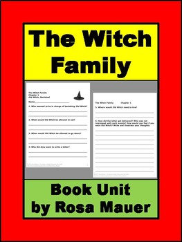 The Witch Family Book Unit