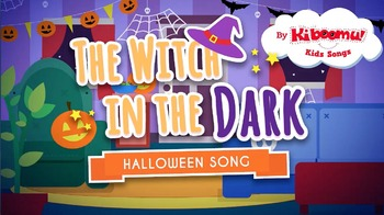 The Witch In The Dark Halloween Music Video for Kids