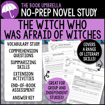 The Witch Who Was Afraid of Witches Novel Study
