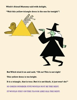 The Witch and the Triangle Dress (eBook + 4 Activities)