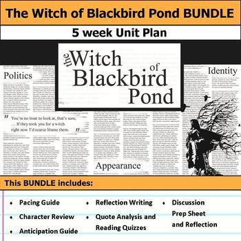 The Witch of Blackbird Pond Unit Bundle