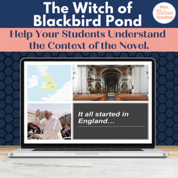 The Witch of Blackbird Pond - Building Background Information