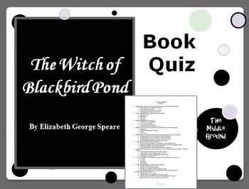 The Witch of Blackbird Pond Book Quiz / Book Test