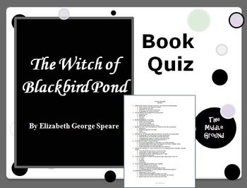The Witch of Blackbird Pond Book Quiz / Book Test