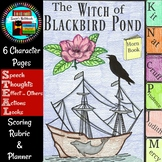 The Witch of Blackbird Pond Character Flip Book and Growth Mindset Activity