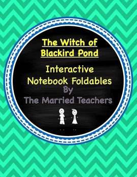 The Witch of Blackbird Pond Interactive Literature & Grammar Notebook Foldables