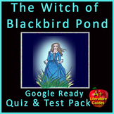 The Witch of Blackbird Pond Test and Quiz Bundle Common Core Aligned