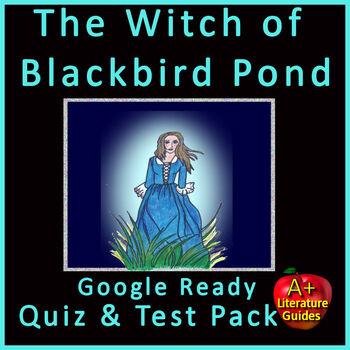The Witch of Blackbird Pond Unit Novel Study Test Bundle