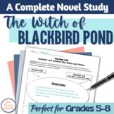 The Witch of Blackbird Pond Novel Unit