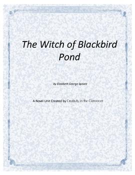 The Witch of Blackbird Pond Novel Unit Plus Grammar