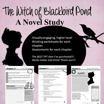 The Witch of Blackbird Pond Novel Study Student Workbook