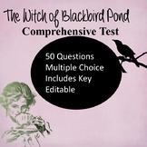 The Witch of Blackbird Pond Test Editable!