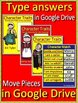 The Witch of Blackbird Pond Novel Study Unit Use With OR Without Google Drive