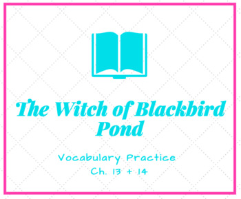 The Witch of Blackbird Pond Vocabulary Activity Ch. 13 + 14