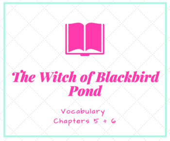 The Witch of Blackbird Pond Vocabulary PowerPoint Ch. 5 + 6