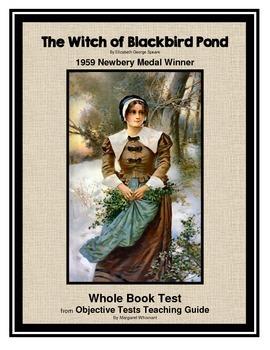 Witch of Blackbird Pond Whole Book Test