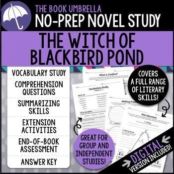 The Witch of Blackbird Pond by TheBookUmbrella | Teachers Pay Teachers