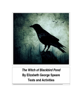 The Witch of Blackbird Pond by Elizabeth George Speare Tests and Activities