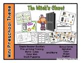 The Witch's Closet - Mini Preschool Theme - Halloween