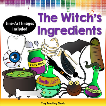 The Witch's Ingredients Clipart