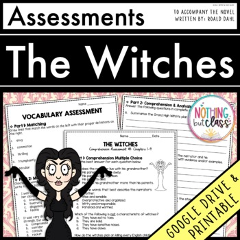 The Witches: Tests, Quizzes, Assessments
