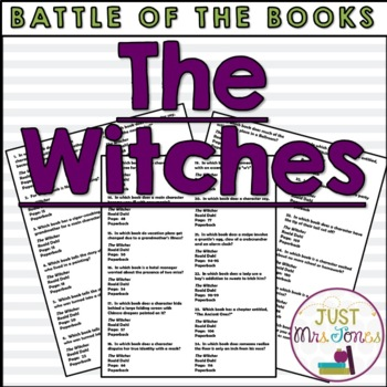 The Witches Battle of the Books Trivia Questions