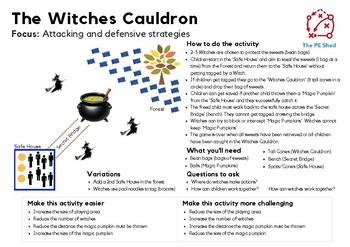 The Witches Cauldron - Halloween PE Game