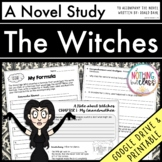 The Witches Novel Study Unit: comprehension, vocabulary, activities, tests