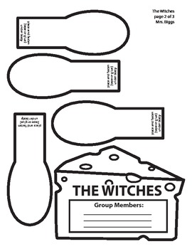 The Witches - Mouse Story Map