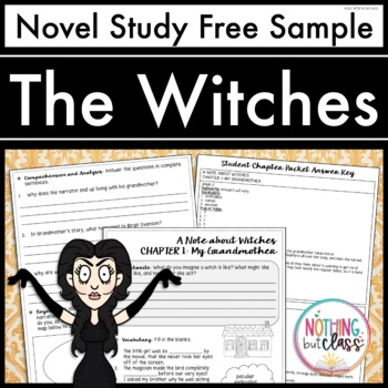 The Witches Novel Study Unit: FREE Sample