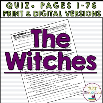 The Witches Quiz #1