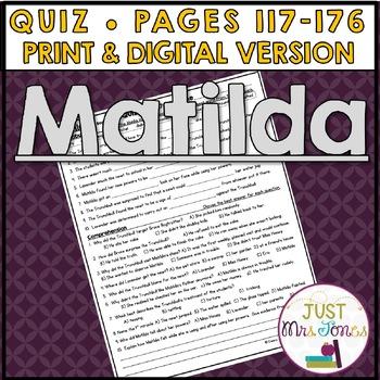 Matilda Quiz #3