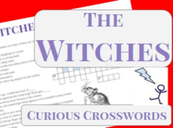 The Witches- Worksheet