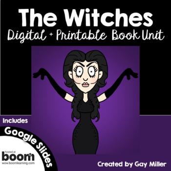 The Witches Novel Study: vocabulary, comprehension, writing, skills [Roald Dahl]