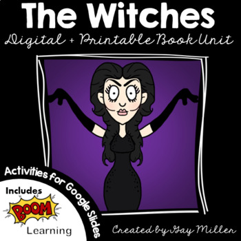 The Witches [Roald Dahl] Book Unit