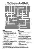 The Witches by Roald Dahl - Chapter 1 Vocabulary Crossword Puzzle