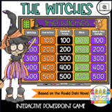The Witches by Roald Dahl   Novel Study Activities   Power