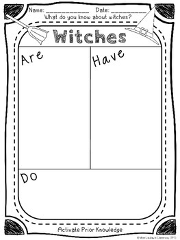 The Witches - Novel Study for Primary Grades