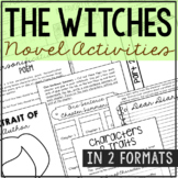 The Witches Novel Unit Study Activities, Book Companion Wo