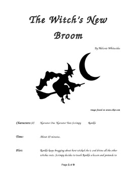 The Witch's New Broom Small Group Reader's Theater