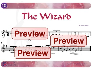 The Wizard Flute And Oboe MP3 And PDF Unit 10.