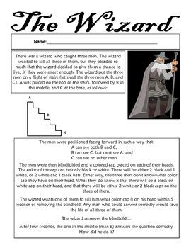 The Wizard - Math Challenge Problem