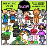 The Wizard Of Oz Clip Art Bundle {Educlips Clipart}