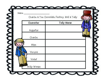 Charlie And The Chocolate Factory Graphing Activity