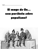 The Wizard of Oz... A Parable on Populism? - ENL VERSION!