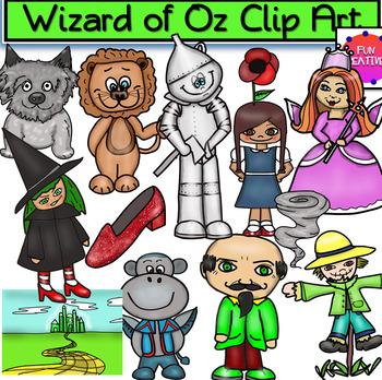 The Wizard of Oz Clip Art