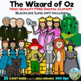 The Wizard of Oz Clip Art for Personal and Commercial Use