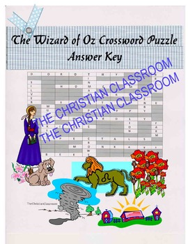 The Wizard of Oz Crossword Puzzle