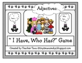 """""""The Wizard of Oz: I have...Who has? game"""" (Adjectives)"""